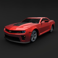 3d model chevrolet camaro zl1