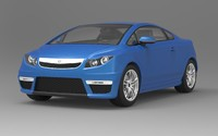 acura city car concept 3d 3ds