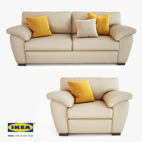 IKEA Vreta Sofa and Chair