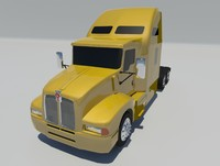 t600 truck vehicle 3d obj