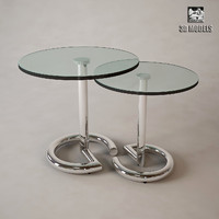 eichholtz glass table 3d model