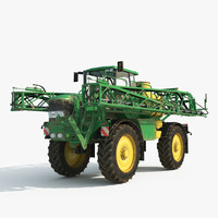 john deere sprayer 3d model