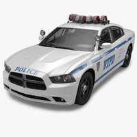 2012 Dodge Charger NYPD Police