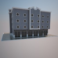 3ds max house home