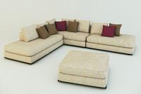 3d corner sofa ekmi milan