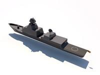 3d f100 frigates aegis