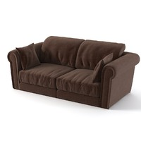 longhi paul sofa 3d 3ds