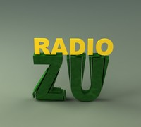 3d logo radio zu model