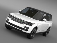 3ds max range rover autobiography v8