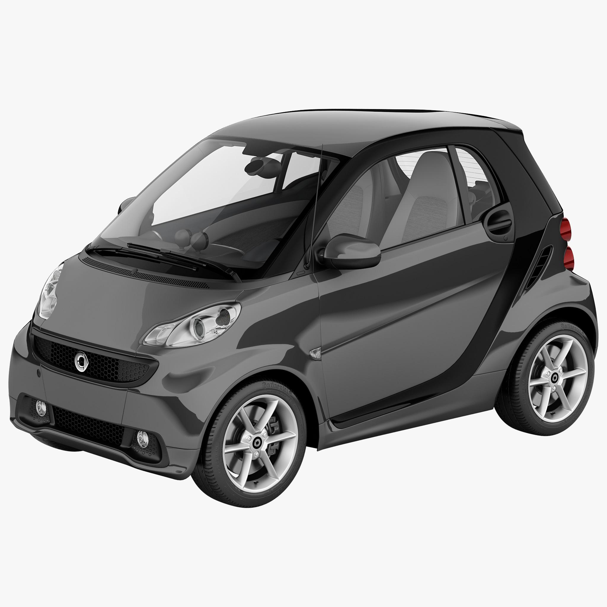 Smart Forfour 2006 3d Model: 3d Smart Fortwo 2013