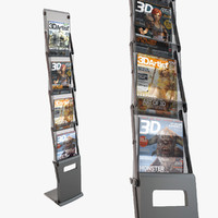 3ds brochure stand folds