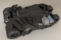 batmobile tumbler bat 3d max