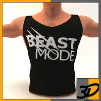 3ds bodybuilding t-shirt body