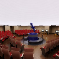 planetarium planets 3d model
