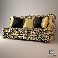 sofa elledue orpheo 3d model