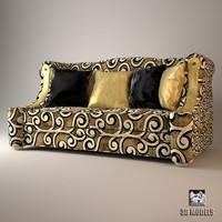 sofa elledue orpheo 3d model