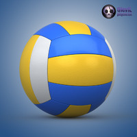 3d volleyball ball