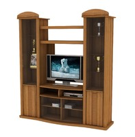 3ds max wall unit classic design