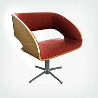 hd charlotte chair 3d obj