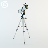 3d model of telescope