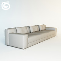 carlito loop sofa 3d model