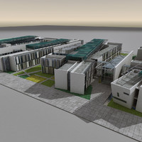 maya modern futuristic architecture building