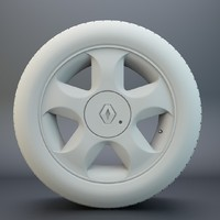 3ds max renault wheel