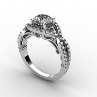 3ds diamond ring
