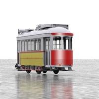 3d model tram