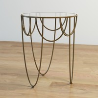 3d model drapery table