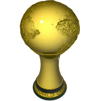 3d model world football cup