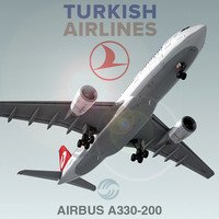 Airbus A330-200 Turkish Airlines