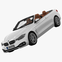 bmw 4 series convertible 3d 3ds