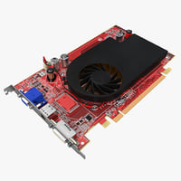 graphics card 2 3d model
