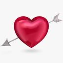 Heart with Arrow 3D models