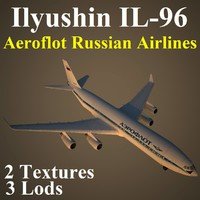 ilyushin afl 3d model
