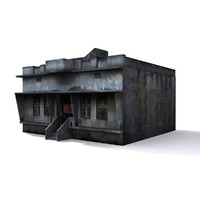 3d model local indian house