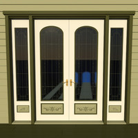 decorative victorian double door obj