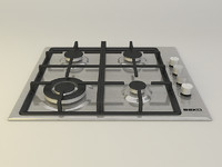 3ds max cooktop cook