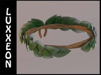 free laurel wreath 3d model