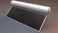 solar water heater dxf