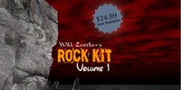 rock kit vol 1 3d model