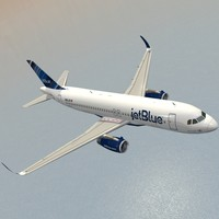 sharkleted a320neo jetblue max