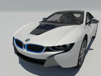 bmw i8 coupe 2015 3d max