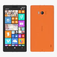 nokia lumia 930 - 3d model