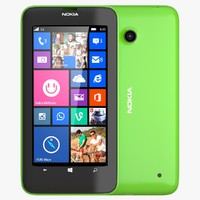 3d nokia lumia 630 bright