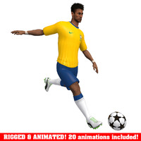 max neymar animations ball soccer