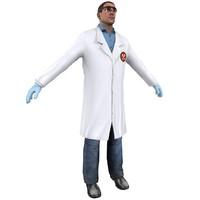 human man male 3d model