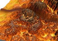free inferno terrain 3d model