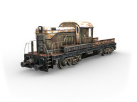 locomotive games 3d model